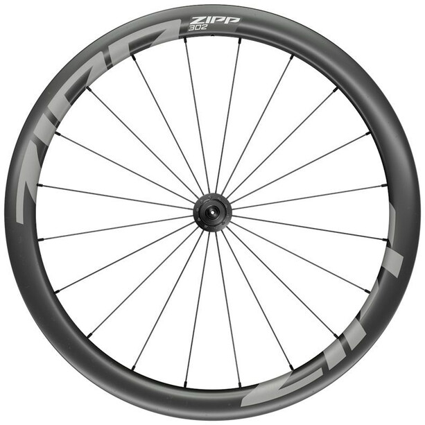 "Zipp 302 Front Wheel 28"" 100mm Carbon Clincher QR svart"