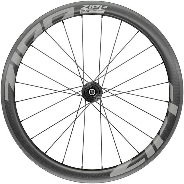 """Zipp 303 Firecrest Rear Wheel 28"""" 130mm Carbon Clincher Tubeless XDR QR, musta"""