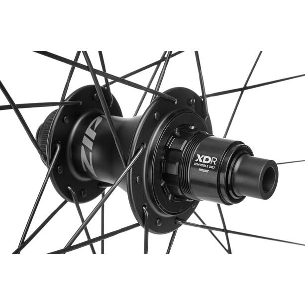 "Zipp 404 Firecrest Hinterrad 28"" 12x142mm Carbon Disc CL Tubeless XDR black"