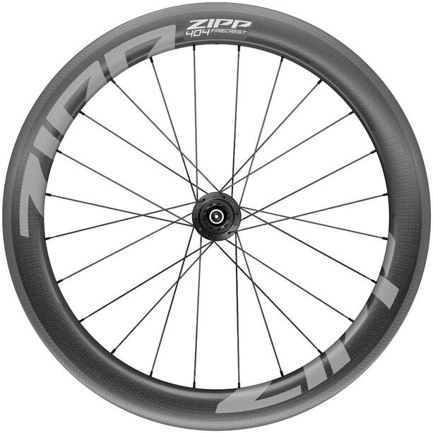 """Zipp 404 Firecrest Rear Wheel 28"""" 130mm Carbon Clincher Tubeless XDR QR svart"""