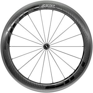 "Zipp 404 NSW Vorderrad 28"" 100mm Carbon Drahtreifen Tubeless QR black black"