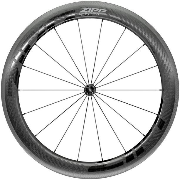 "Zipp 404 NSW Vorderrad 28"" 100mm Carbon Drahtreifen Tubeless QR black"