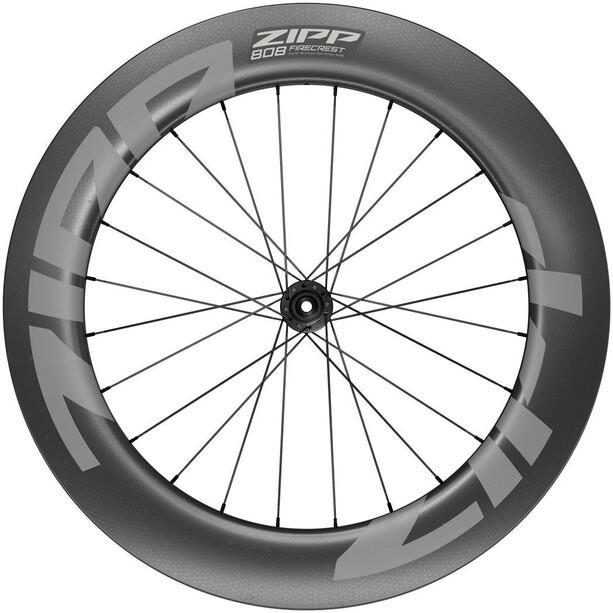 "Zipp 808 Firecrest Vorderrad 28"" 12x100mm Carbon Disc CL Tubeless schwarz"