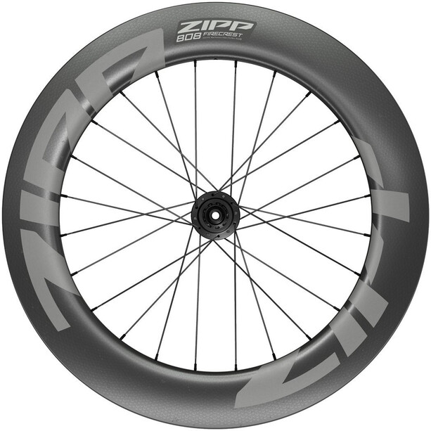 "Zipp 808 Firecrest Rear Wheel 28"" 12x142mm Carbon Disc CL Tubeless Shimano black"
