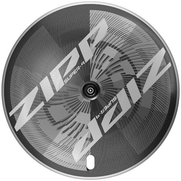 """Zipp Super-9 Hinterrad 28"""" 130mm Carbon Drahtreifen Tubeless XDR QR black"""