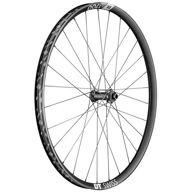"DT Swiss EX 1700 Spline Front Wheel 29"" Disc CL 15x110mm TA 21mm"