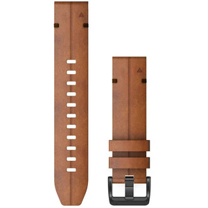 Garmin QuickFit Leather Watch Band 22mm for Fenix 6 brown brown