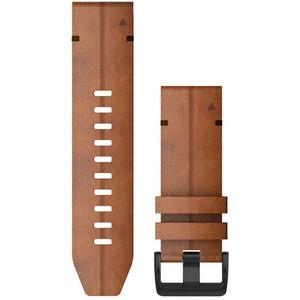 Garmin QuickFit Leather Watch Band 26mm for Fenix 6X, ruskea ruskea