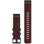 Garmin QuickFit Nylon Uhrenband 22mm für Fenix 6 red