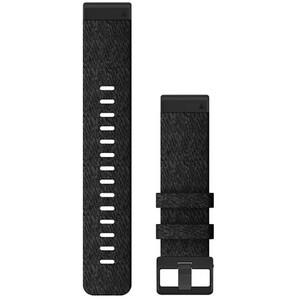 Garmin QuickFit Correa Reloj de Nylon 22mm para Fenix 6S, negro negro