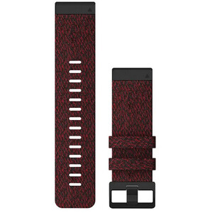 Garmin QuickFit Bracelet de montre en nylon 26mm pour Fenix 6X, red red