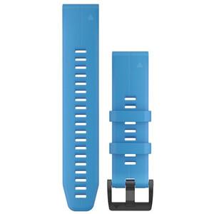 Garmin QuickFit Silikon Uhrenband 22mm für Fenix 6 blue blue