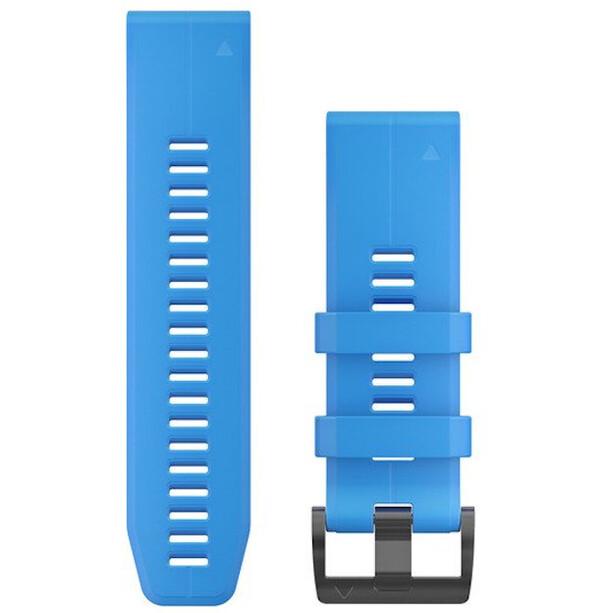 Garmin QuickFit Silikon Uhrenband 26mm für Fenix 6X blue