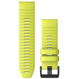 Garmin QuickFit Silikon Uhrenband 26mm für Fenix 6X neon yellow neon yellow