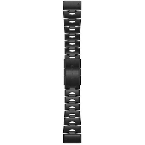 Garmin QuickFit Titan Uhrenband 26mm für Fenix 6X anthracite grey