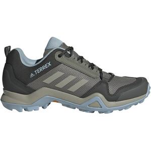 adidas TERREX AX3 Wanderschuhe Damen legacy green/feather grey/ash grey legacy green/feather grey/ash grey