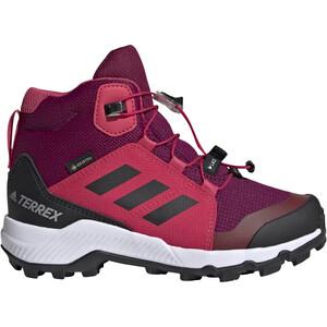adidas TERREX Mid GTX Schuhe Kinder power berry/core white/power pink power berry/core white/power pink