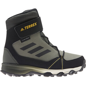 adidas TERREX Snow CF C.RDY Kengät Lapset, legacy green/core black/solid gold legacy green/core black/solid gold
