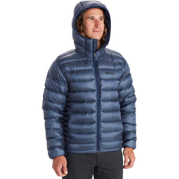 Marmot Hype Daunen-Kapuzenjacke Herren blau