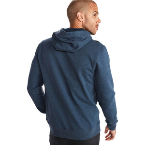 Marmot Piste Hoodie Herren dark indigo heather dark indigo heather