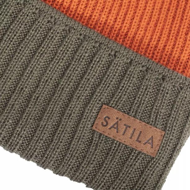 Sätila of Sweden Borred Mütze green/orange