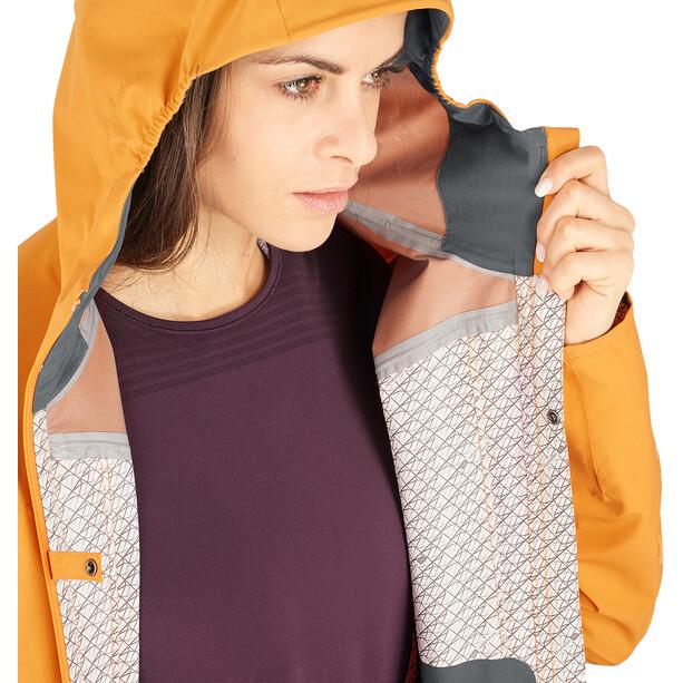Salomon Outline Jacke Damen orange