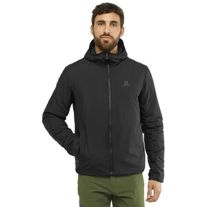 Salomon Outrack Insulated Hoodie Herren black black