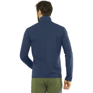 Salomon Outrack Half Zip Mid Shirt Herren night sky night sky