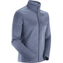 Salomon Transition Full Zip Mid Jacke Herren night sky/heather