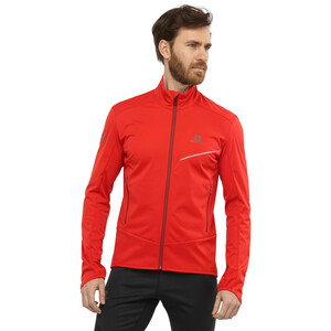 Salomon RS Softshell Jacket Men, goji berry/madder brown goji berry/madder brown