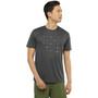 Salomon Agile Graphic Kurzarm T-Shirt Herren grau