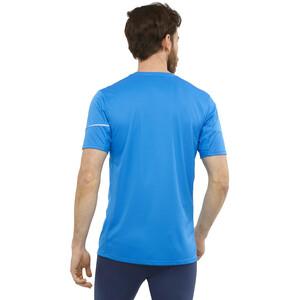 Salomon Agile Kurzarm T-Shirt Herren indigo bunting indigo bunting
