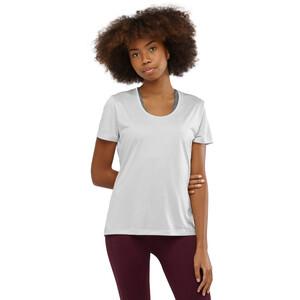 Salomon Agile Kurzarm T-Shirt Damen wht/oyster mu/heather wht/oyster mu/heather