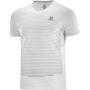 Salomon Sense Kurzarm T-Shirt Herren wht/alloy/quiet shade wht/alloy/quiet shade