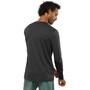 Salomon XA Langarm T-Shirt Herren schwarz