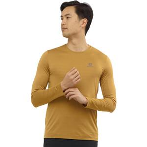 Salomon XA Langarm T-Shirt Herren cumin/heather cumin/heather