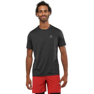 Salomon XA Camo Kurzarm T-Shirt Herren black/heather black/heather