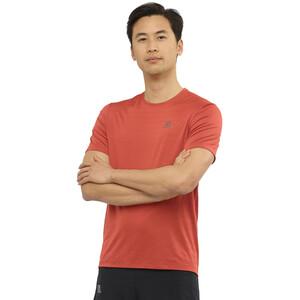 Salomon XA Camo Kurzarm T-Shirt Herren goji berry/heather goji berry/heather