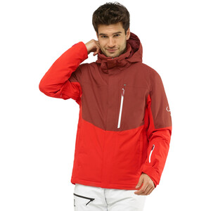 Salomon Speed Jacke Herren goji berry/madder brown/wht goji berry/madder brown/wht