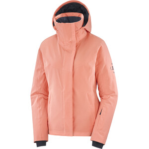 Salomon Speed Jacke Damen burnt coral/ebony burnt coral/ebony