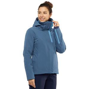 Salomon Speed Jacke Damen dark denim/copen blue dark denim/copen blue