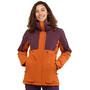 Salomon Proof LT Isolierende Jacke Damen orange/lila