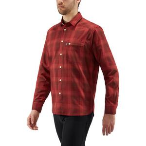 Haglöfs Tarn Flannel Langarmhemd Herren maroon red/brick red maroon red/brick red