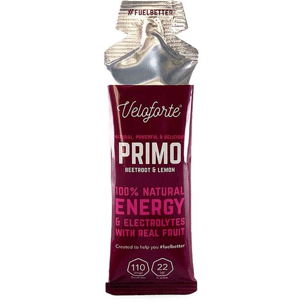 Veloforte Primo Gel 33g Beetroot/Lemon