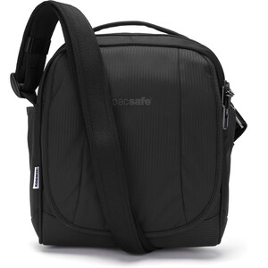 Pacsafe Metrosafe LS200 ECONYL Crossbody Bag black black