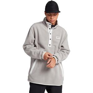 Burton Hearth Fleece Pullover Herren iron gray iron gray