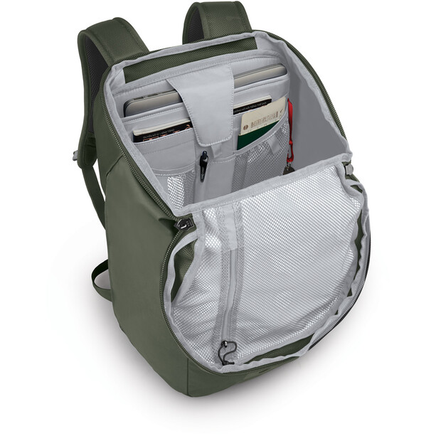 Osprey Transporter Flap Sac à dos, vert