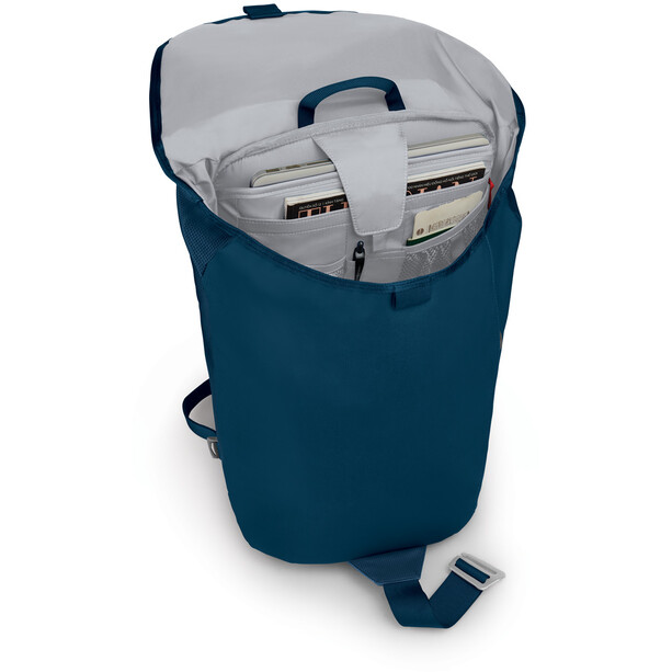 Osprey Transporter Flap Sac à dos, deep water blue