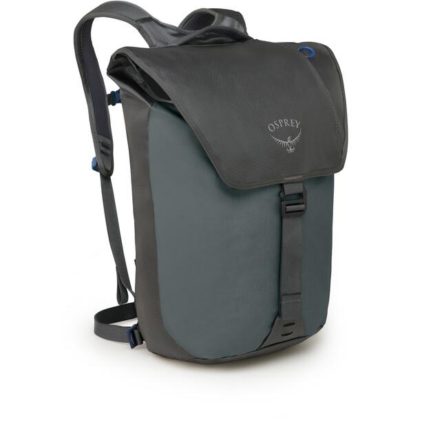 Osprey Transporter Flap Sac à dos, gris