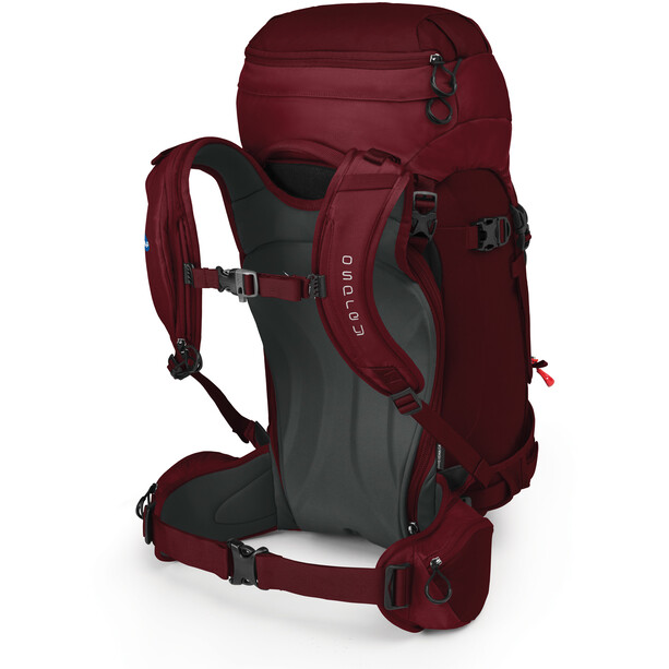 Osprey Kresta 40 Backpack Women rosewood red